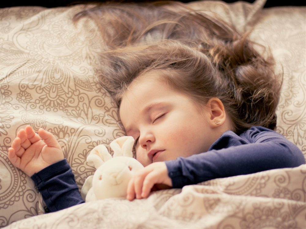朝寝なしで11時に寝る子供