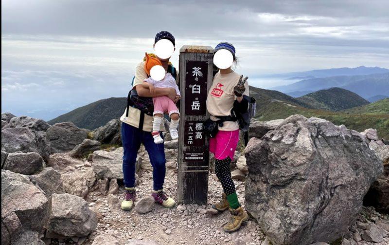 2時間で登頂