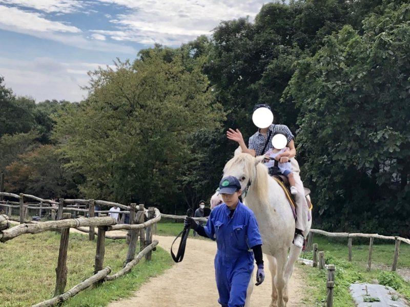 南ヶ丘牧場で乗馬
